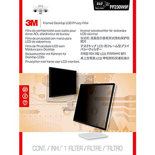 3M PF230W9F Blickschutzfilter mit Rahmen für 23 Zoll (58,42cm) 16:9 98044064339 | 0051128006771