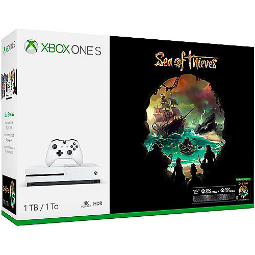 Microsoft Xbox One S Konsole 1TB Sea of Thieves...
