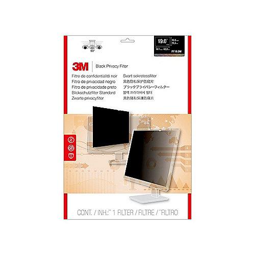 3M PF190W1B Blickschutzfilter Black für 19 Zoll (48,26cm) 16:10 98044054124 | 0051128786147