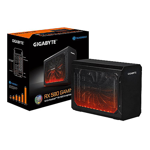 Gigabyte Radeon Gaming Box RX 580 8GB PCIe Grafikkarte HDMI/3x DP