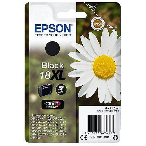 Epson Original Druckerpatrone Schwarz 18XL