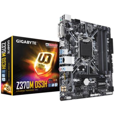 Gigabyte  Z370M-DS3H mATX Mainboard 1151 (Coffee Lake) | 4719331802622