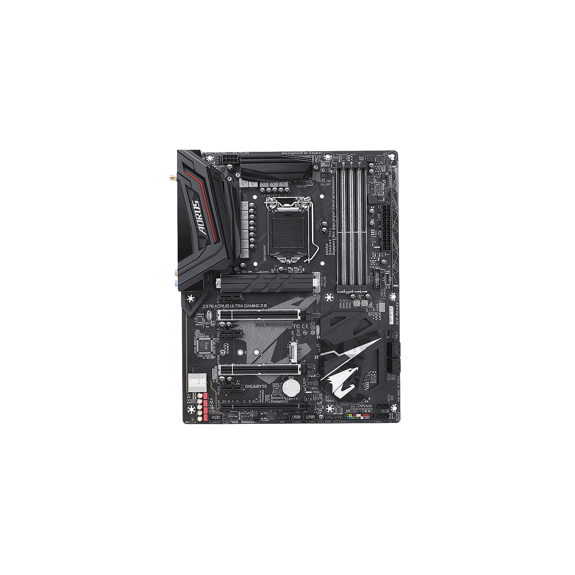Gigabyte AORUS Z370 Ultra Gaming 2.0 ATX Mainboard 1151 (Coffee Lake)