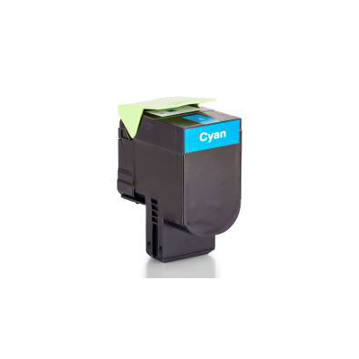 HQ Patronen Alternative zu Lexmark 80C2XC0 / 802XC Toner Cyan ca. 4.000 Seiten | 4057032791204