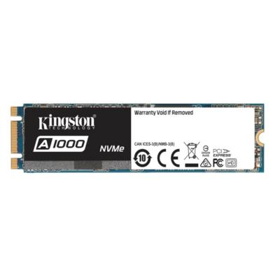 Kingston  A1000 SSD M.2 480GB NVMe TLC – 80mm | 0740617277319