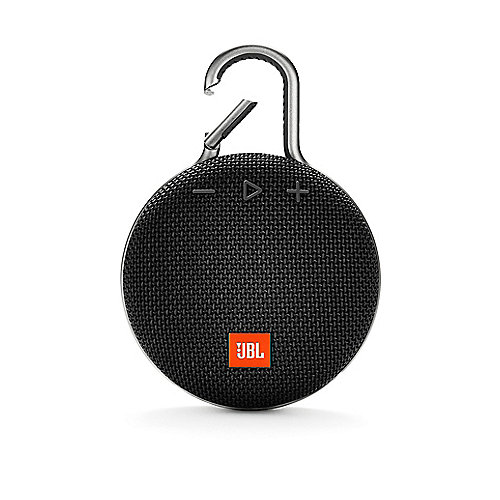 Clip 3 Black Tragbarer Bluetooth-Lautsprecher Schwarz wasserdicht nach IPX7 | 6925281933028