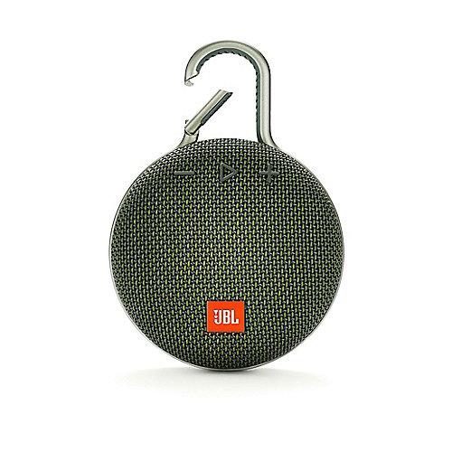 JBL Clip 3 Green Tragbarer Bluetooth-Lautsprecher Grün wasserdicht nach IPX7 | 6925281933080
