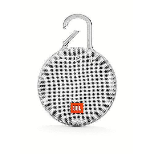 JBL Clip 3 White Tragbarer Bluetooth-Lautsprecher Weiß wasserdicht nach IPX7 | 6925281933073