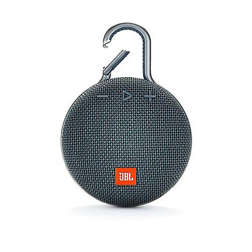 JBL Clip 3 Blue Tragbarer Bluetooth-Lautsprecher Blau wasserdicht nach IPX7 | 6925281933035