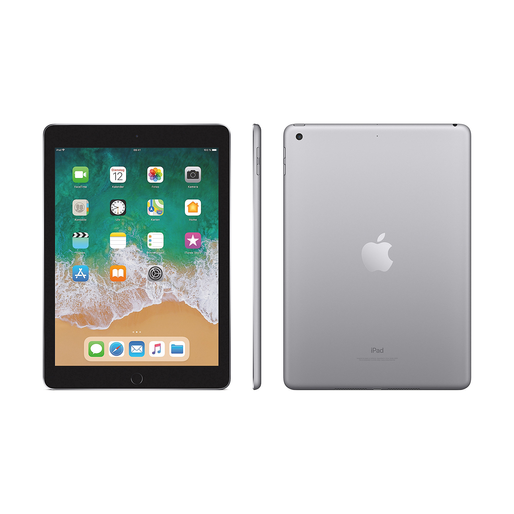 "Apple iPad 9,7"" 2018 Wi-Fi 128 GB Spacegrau (MR7J2FD/A)"