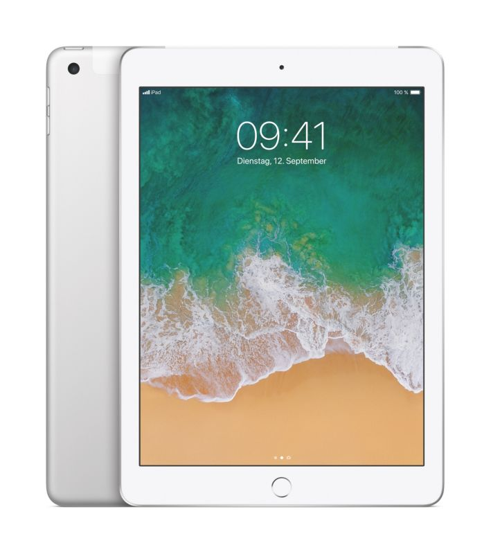 Apple iPad Wi-Fi + Cellular 128 GB Silber (MP2E2FD/A)