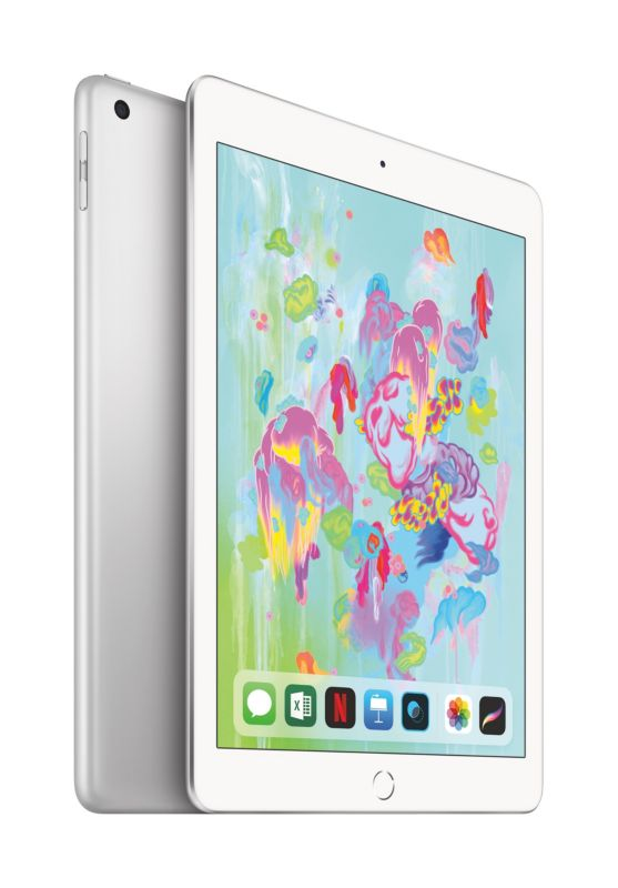 "Apple iPad 9,7"" 2018 Wi-Fi + Cellular 128 GB Silber (MR7D2FD/A)"