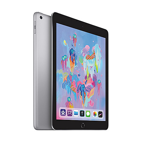 Apple iPad 9,7'' 2018 Wi Fi Cellular 128 GB Space Grau (MR7C2FD A)