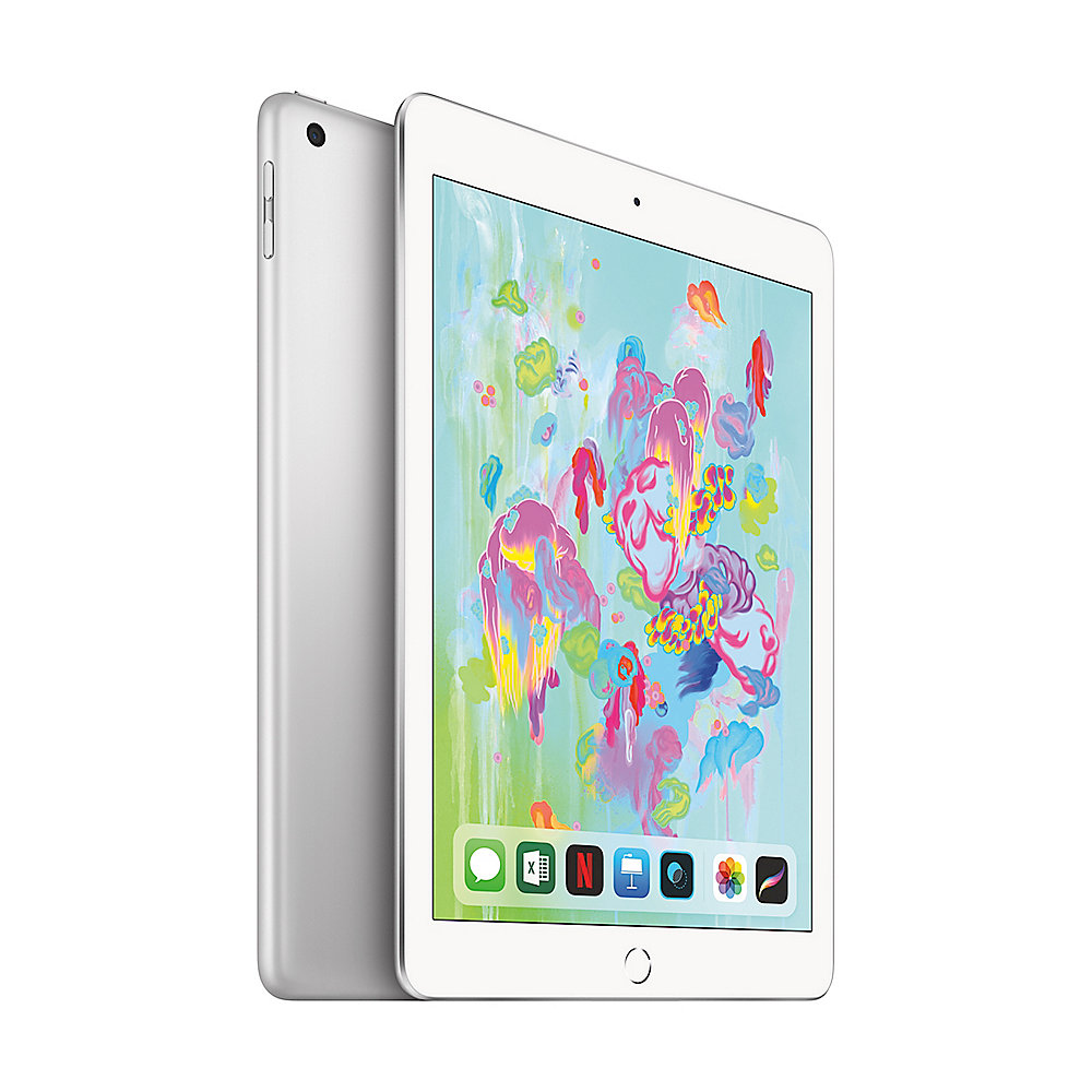 "Apple iPad 9,7"" 2018 Wi-Fi + Cellular 32 GB Silber (MR702FD/A)"