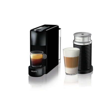 Krups XN 1118 Nespresso Essenza Mini & Aeroccino 3 schwarz