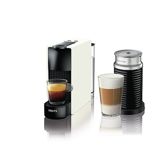 Krups XN 1111 Nespresso Essenza Mini and Aeroccino 3 weiß | 0010942223443