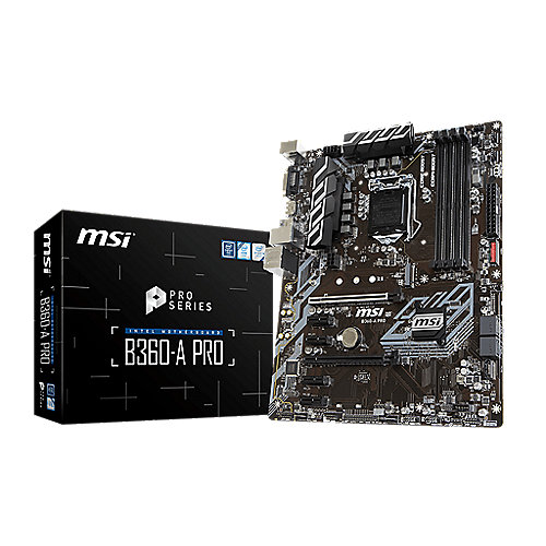 MSI B360-A Pro ATX Mainboard Sockel 1151 (Coffee Lake) BTC