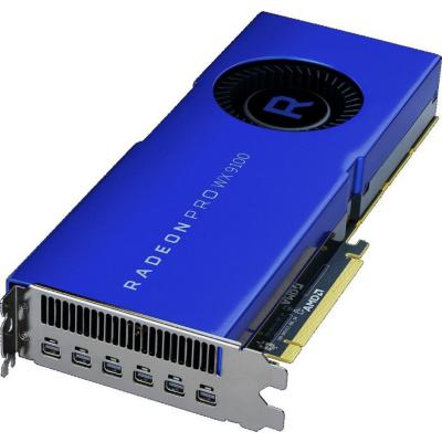 AMD  Radeon Pro WX9100 16GB HBM2 PCIe Workstation Grafikkarte 6x DP | 0727419416399