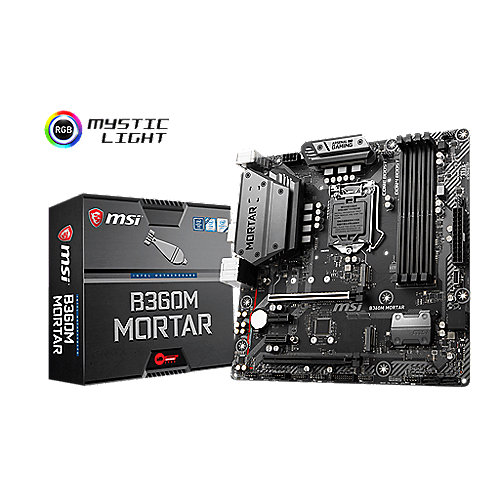 MSI B360M Mortar mATX Mainboard Sockel 1151 (Coffee Lake)