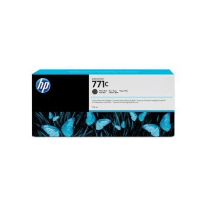 HP  B6Y07A Original Druckerpatrone 711C Mattschwarz | 0887111300522