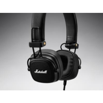 Marshall  Major III Bluetooth On-Ear-Kopfhörer schwarz   7340055352369