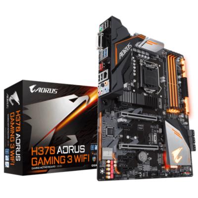 Gigabyte  AORUS H370 Gaming 3 WIFI ATX Mainboard 1151v2 (Coffee Lake) | 4719331802820