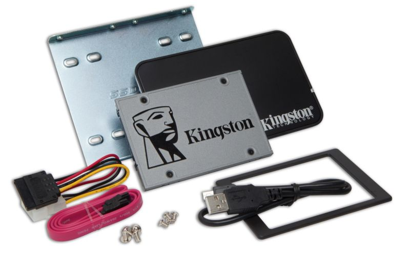 Kingston UV500 SSD 120GB TLC 2.5zoll SATA600 - 7mm - Kit