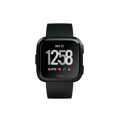 Fitbit  Versa Gesundheits- und Fitness-Smartwatch schwarz | 0816137029049