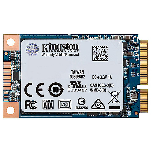 Kingston UV500 SSD 120GB TLC 2.5zoll SATA600 - mSATA