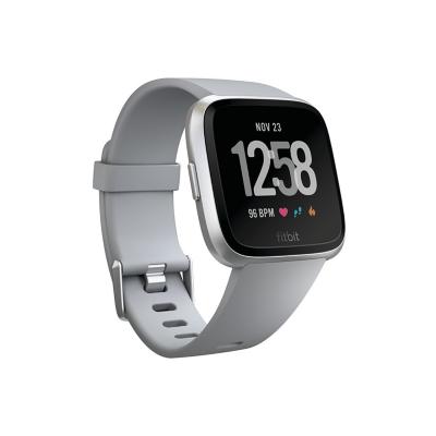 Fitbit  Versa Gesundheits- und Fitness-Smartwatch grau/silber | 0816137029100