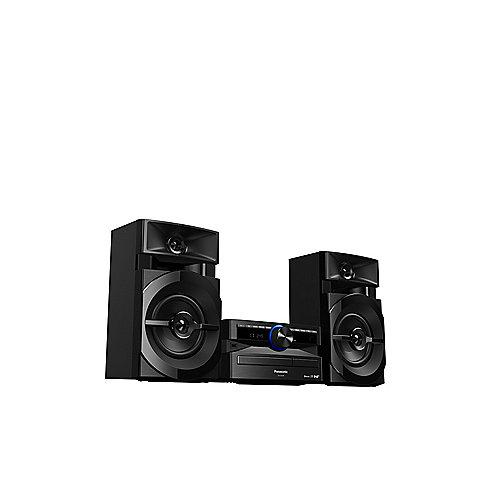CP7A21-15Q Panasonic SC-UX104 CD-Mini HiFi System DAB+ Bluetooth schwarz