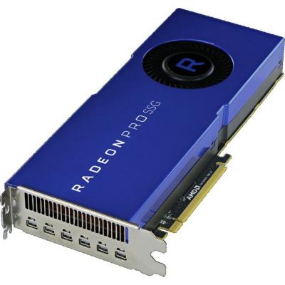 AMD  Radeon Pro SSG 16GB HBM2 + 2TB SSG  Workstation Grafikkarte 6x MiniDP | 0727419416597