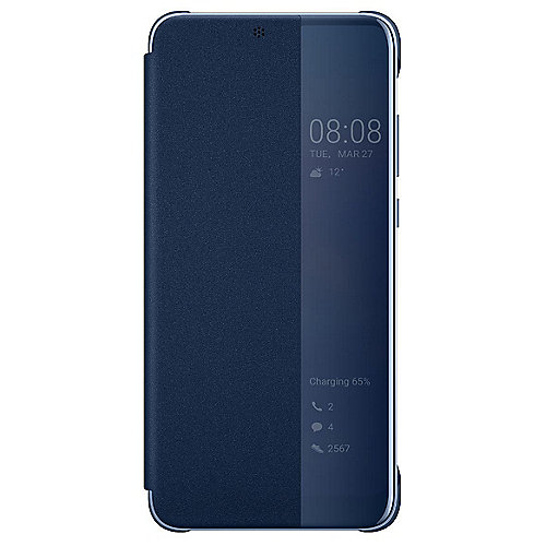 Huawei P20 Pro Smart View Flip Cover deep blue
