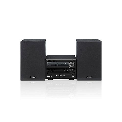 CP7A21-15S Panasonic SC-PM254 Mikrosystem mit DAB+, CD, Bluetooth schwarz