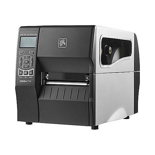 Zebra ZT230 Etikettendrucker Monochrom Cutter USB LAN Seriell 203 dpi | 5711045755620