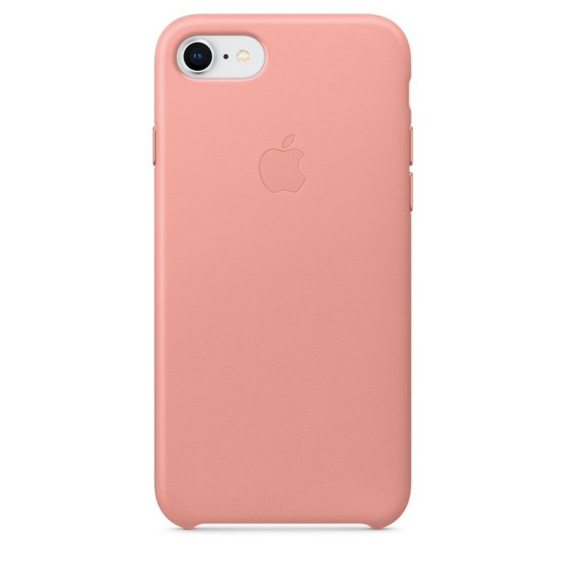 Apple Original iPhone 8 / 7 Leder Case-Zartrosa