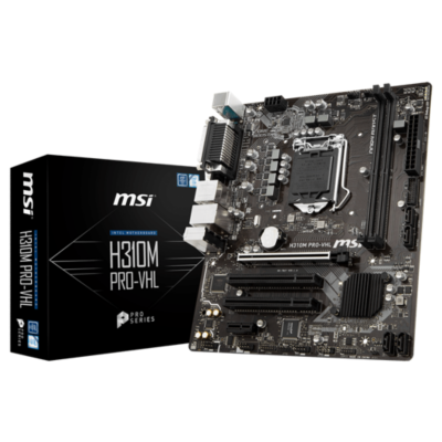 MSI  H310M Pro-VHL mATX Mainboard Sockel 1151v2 (Coffee Lake) | 4719072564216