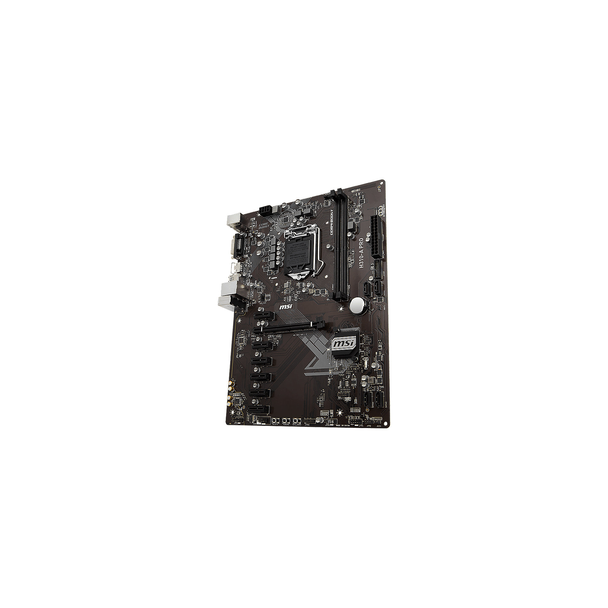 MSI H310-A Pro ATX Mainboard Sockel 1151v2 (Coffee Lake), BTC