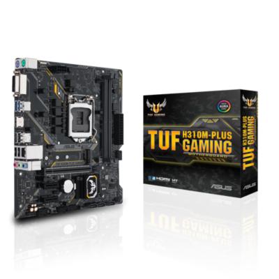 Asus  TUF H310M-Plus GAMING mATX Mainboard 1151v2 HDMI/DVI/M.2/USB3.1 (Gen1) | 4712900989939