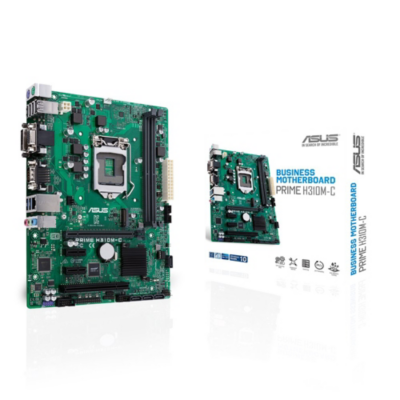 Asus  Prime H310M-C mATX Mainboard Sockel 1151 DVI/VGA/M.2/COM/USB3.1 (Gen 1) | 4712900892444