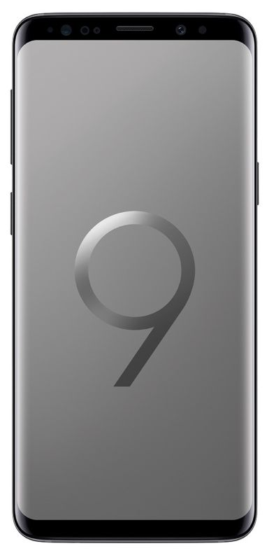 Samsung GALAXY S9 DUOS midnight black G960F 256 GB Android 8.0 Smartphone