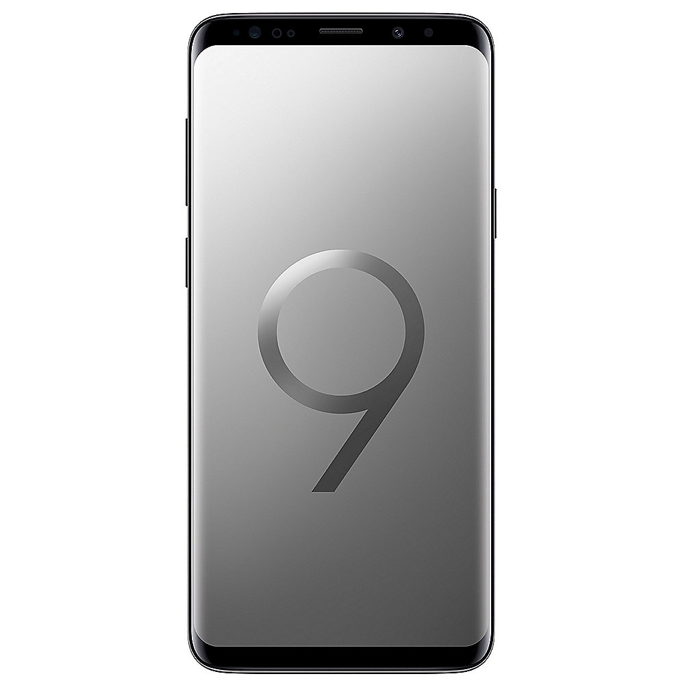 Samsung GALAXY S9+ DUOS titanium gray G965F 256 GB Android 8.0 Smartphone