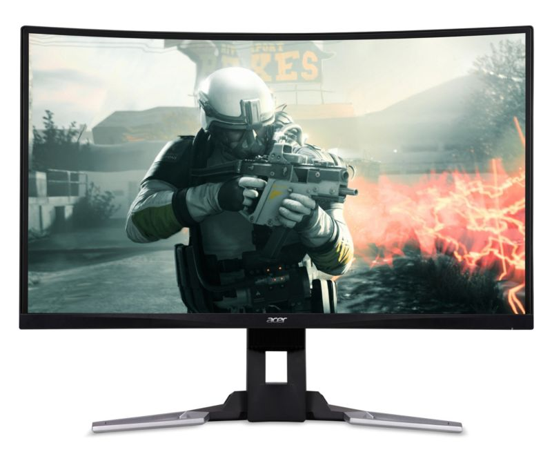 "ACER XZ321QU  80cm (31,5"") FHD curved Gaming-Monitor FreeSync 144Hz 4ms HDMI/DP"