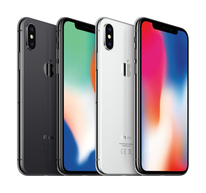 Apple iPhone X 64 GB Space Grau MQAC2ZD/A
