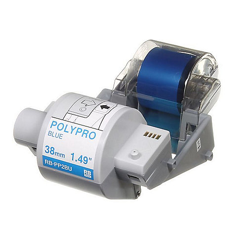 Brother RB-PP2BU Plastikband Farbband blau 38mm x 300m