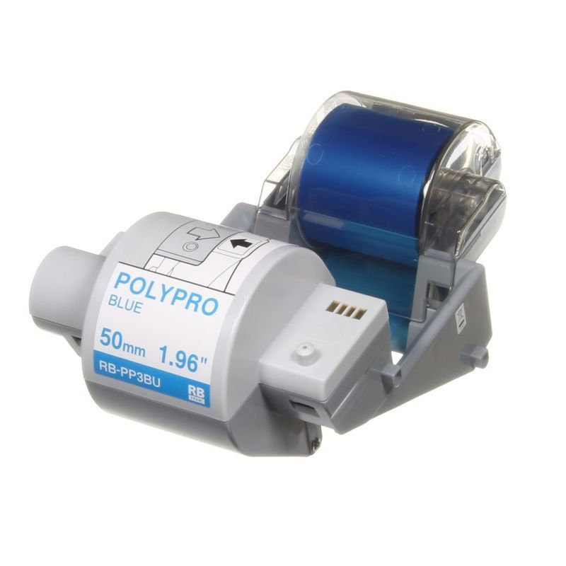 Brother RB-PP3BU Plastikband Farbband blau 50mm x 300m