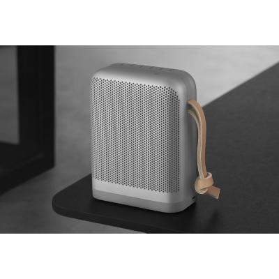 Bang & Olufsen B&O PLAY BeoPlay P6 silber Bluetooth Lautsprecher USB-C Sprachsteuerung | 5705260071023