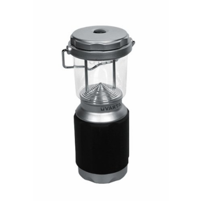 Varta  XS LED Camping Laterne 4AA silber/schwarz | 4008496676972