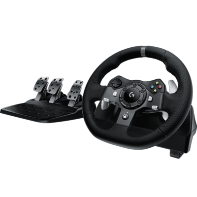 Logitech G920 Driving Force Rennlenkrad Pedale für XBOX One und PC 941 000123 auf Rechnung bestellen