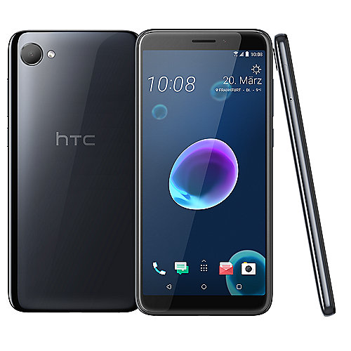 HTC Desire 12 black Dual-SIM Android Smartphone